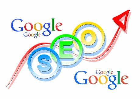 SEO pilt Google logoga